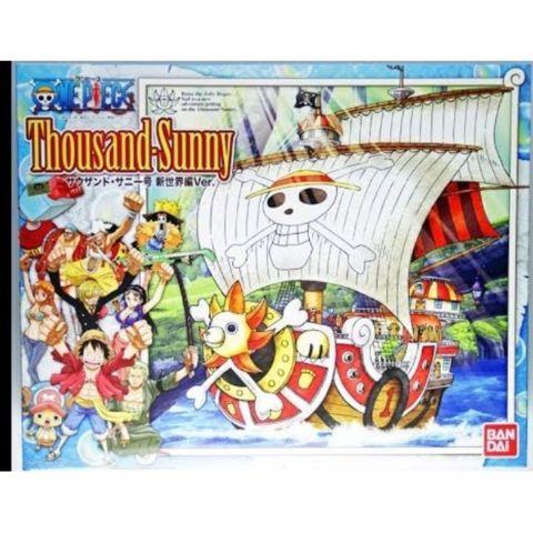 One Piece - Thousand Sunny New World Version Model Kit