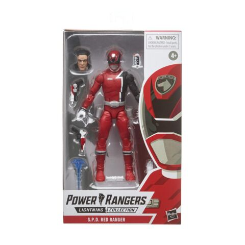 Power Rangers Lightning Collection 6-Inch S.P.D. Red Ranger