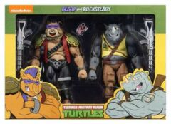 NECA - Teenage Mutant Ninja Turtles Bebop and Rocksteady (Classic Cartoon) 7