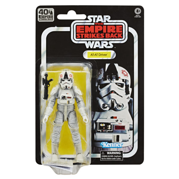 Star Wars Black Series 40th Anniversary Empire Strikes Back - AT-AT Driver