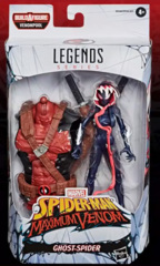 Marvel Legends Spider-Man Maximum Venom Ghost-Spider