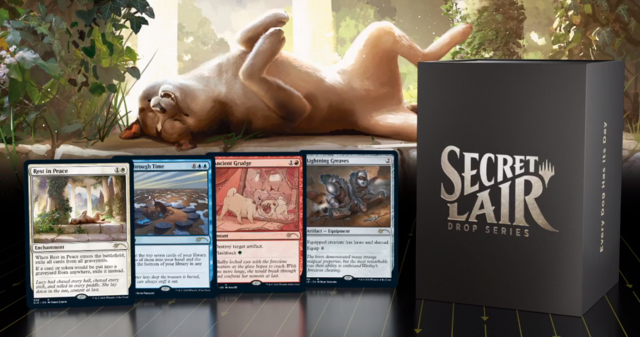 Secret Lair - Every Dog Has Its Day FOIL