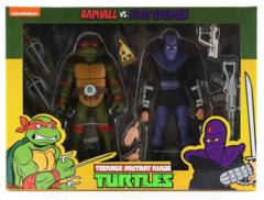 Neca - Teenage Mutant Ninja Turtles 2 Pack Raphael & Foot Soldier