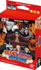 Naruto Boruto Themed Deck - Hokage Set NB-03