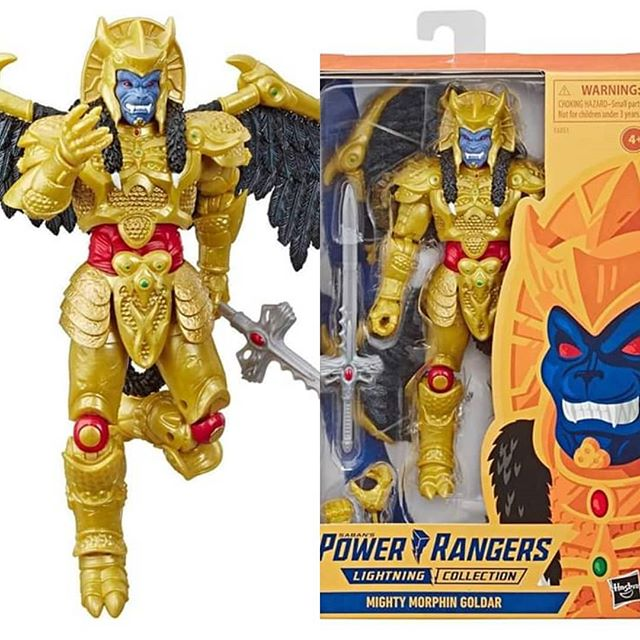 Lightning Collection - Power Rangers Mighty Morphin Goldar