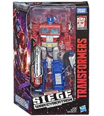 Transformers War for Cybertron: Siege Optimus Prime Voyager Action Figure