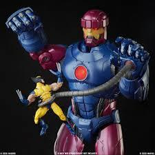 MARVEL LEGENDS HASLAB EXCLUSIVE GIANT 28 INCH SENTINEL WITH ALL BONUSES!
