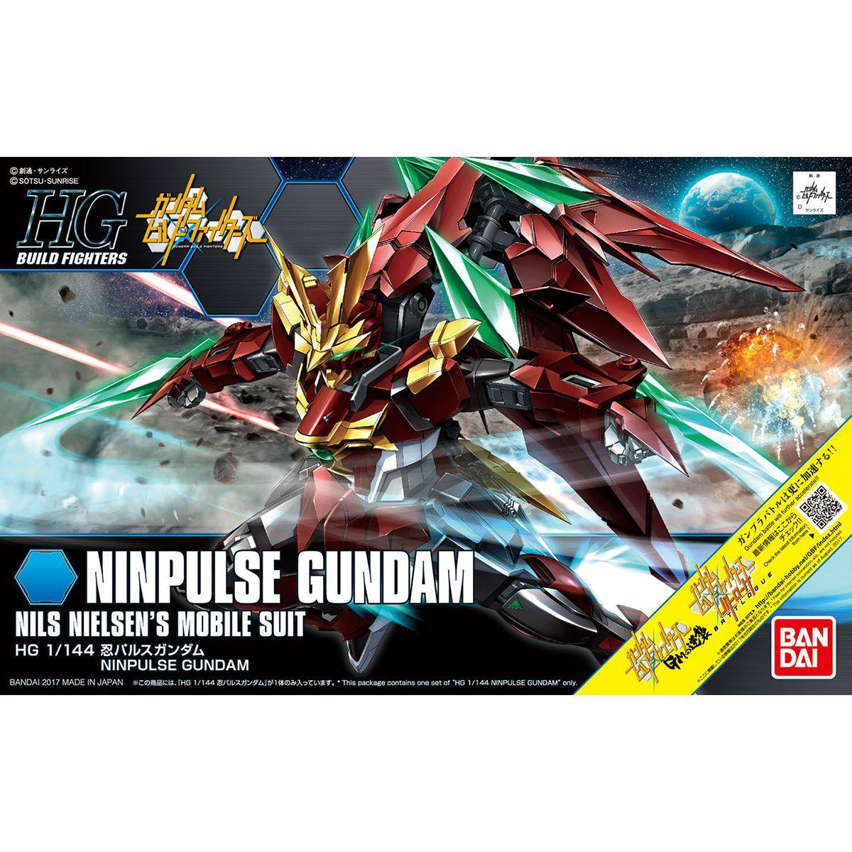 HG 1/144 Ninpulse Gundam