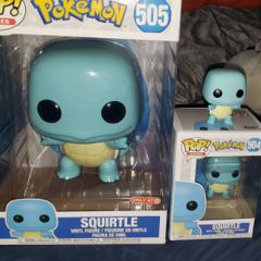 GIANT OVERSIZE FUNKO POP - SQUIRTLE EXCLUSIVE