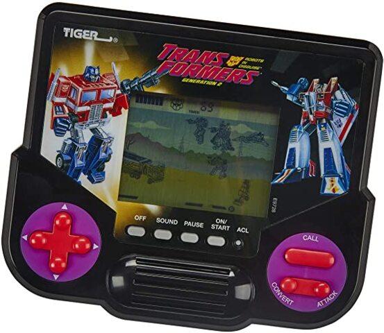 Tiger Electronics Handheld Video Game - Transformers