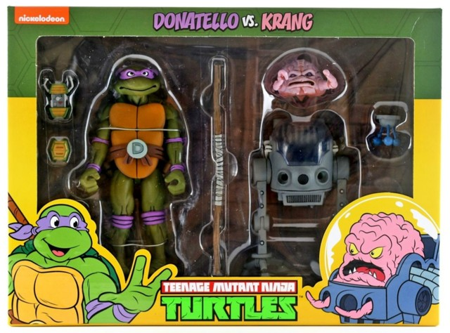 Neca Teenage Mutant Ninja Turtles 2 Pack - Donatello & Krang