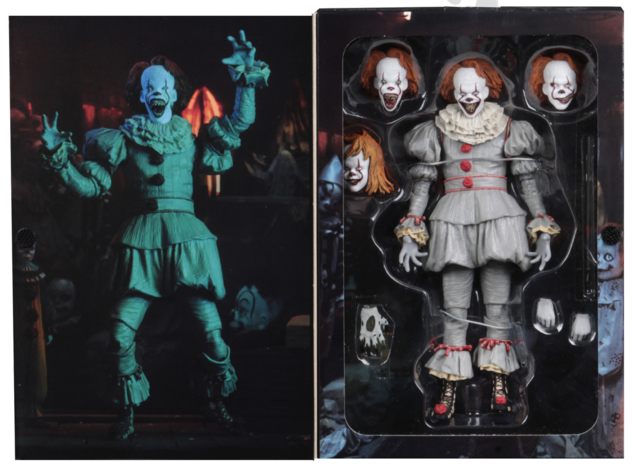 IT Neca Ultimate Pennywise Well House Action Figure