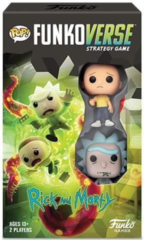 POP! Funkoverse - Adult Swim - Rick and Morty
