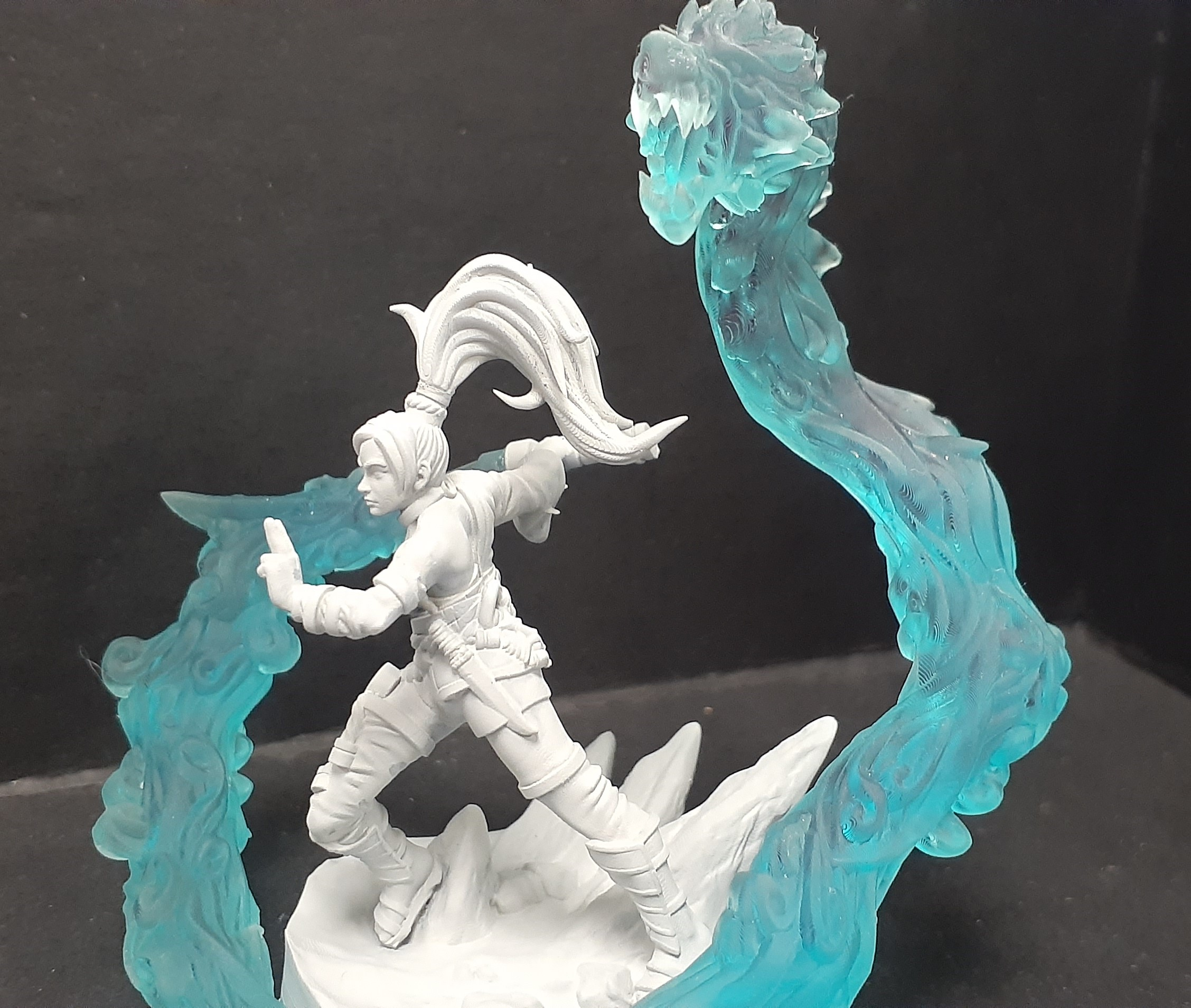 Deluxe Female Monk (Water Dragon)