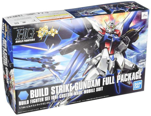 HG 1/144 Build Strike Gundam Full Package