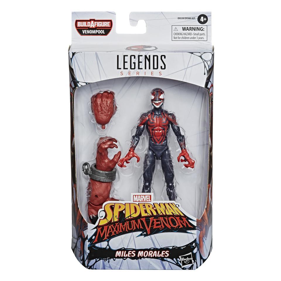Marvel Legends Spider-Man Maximum Venom Miles Morales