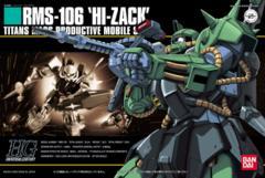 HG 1/144 - RMS-106 Hi-Zack Titans Mass Productive Mobile Suit Gundam