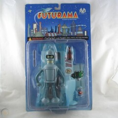 Futurama BENDER Action Figure with Suicide Booth