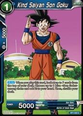 Kind Saiyan Son Goku - BT1-033 - C (Foil)