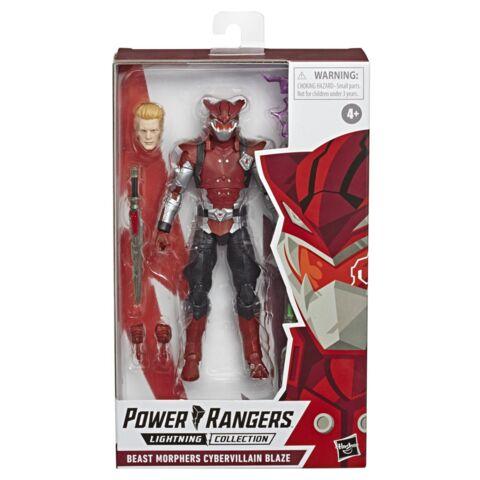 Power Rangers Lightning Collection 6-Inch Beast Morphers Cybervillain Blaze