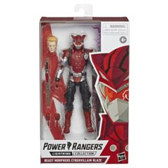 Power Rangers Lightning Collection 6-Inch Beast Morphers Cybervillain Blaze