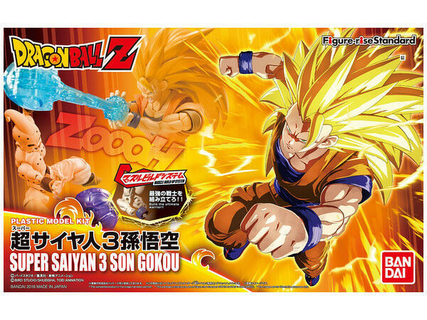 Dragon Ball Z Figure-rise Super Saiyan 3 Son Goku