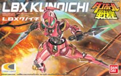 LBX Kunoichi Bandai Model Kit