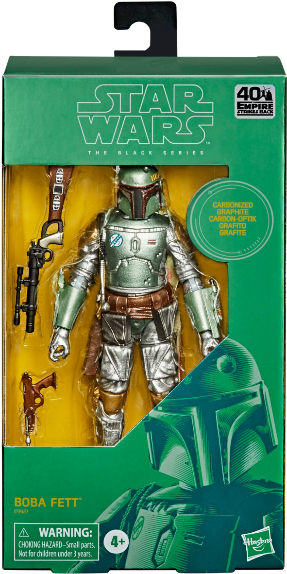 Star Wars Black Series - Carbonized Boba Fett