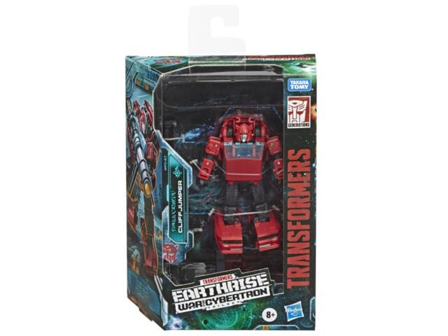 Transformers War for Cybertron: Earthrise Deluxe Cliffjumper