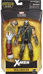 Skullbuster - X-Men Marvel Legends Caliban Series Action Figure