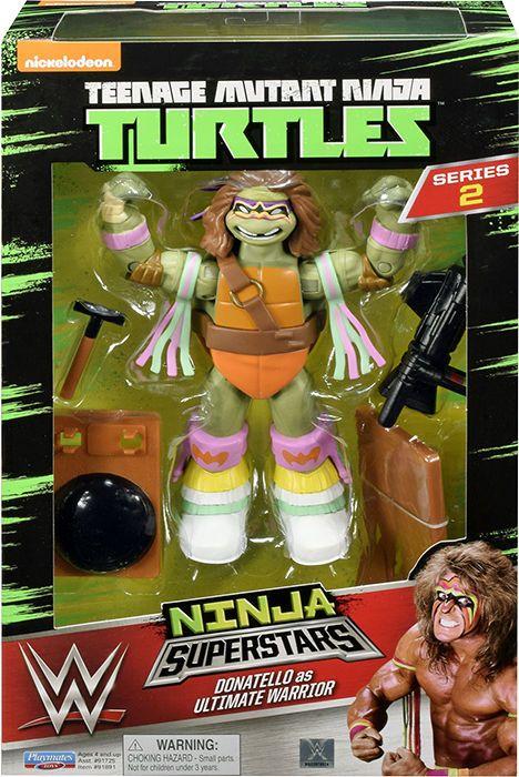 Teenage Mutant Ninja Turtles Ninja Superstars - Donatello The Ultimate Warrior
