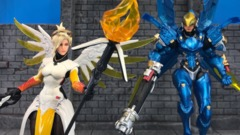 Overwatch Ultimates - Mercy & Pharah (2 Pack)