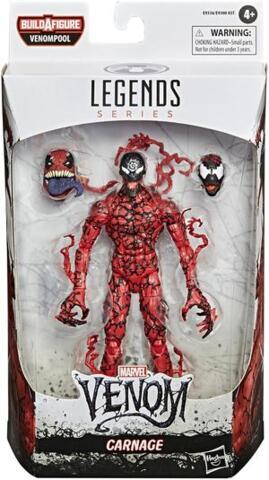 Marvel Legends Venom Carnage