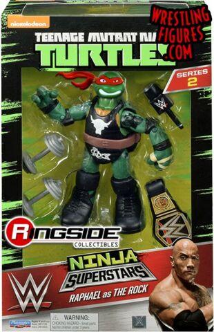 Teenage Mutant Ninja Turtles Ninja Superstars - Raphael The Rock