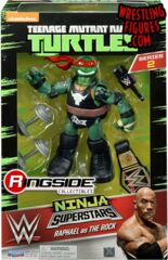 Teenage Mutant Ninja Turtles Ninja Superstars - Raphael The Rock