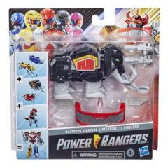 Power Rangers - Mighty Morphin Mastodon Dinozord and Pterodactyl Dinozord Toy 2-Pack