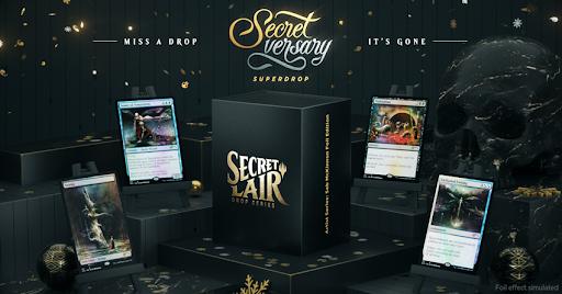Secret Lair - Art Series - Seb McKinnon Foil Edition