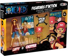 One Piece Luffy and Chopper Figure Set  OBYZ