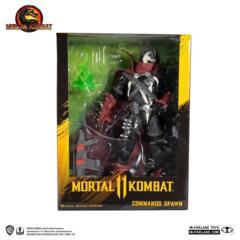 MacFarlane - Mortal Combat Commando Spawn 12 Inch
