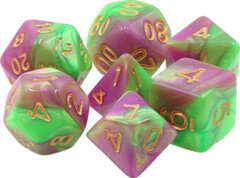 TMG DICE Harlequins Vow Green/Rose Fusion