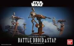 Star Wars Battle Droid & Stap Model Kit