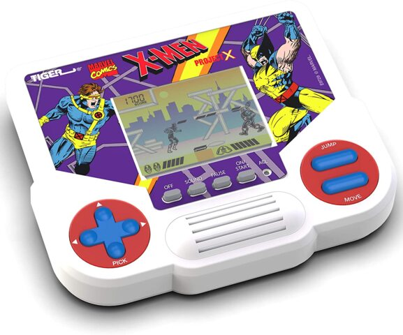 Tiger Electronics Handheld Video Game - X-Men
