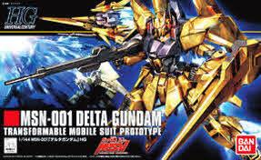 HGUC 1/144 #136 Delta Gundam
