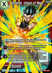 Gotenks, Unison of Rage - EX11-02 - EX (Foil)