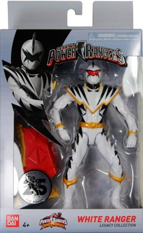 Power Rangers Legacy Collection - Dino Thunder White Ranger