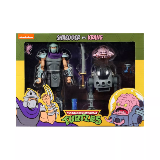 Neca - Teenage Mutant Ninja Turtles 2 Pack - Shredder and Krang