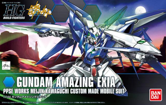 HG - BF 1/144 Gundam Amazing Exia