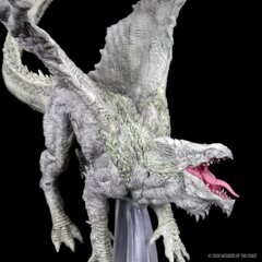 DND Icons of the Realms - Adult White Dragon Premium Figure
