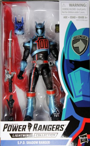 Lightning Collection - Power Rangers S.P.D. Shadow Ranger