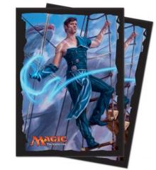 Ultra Pro Ixalan, Jace, Cunning Castaway Deck Protector sleeves for Magic 80ct